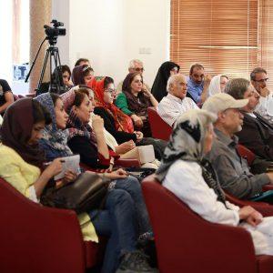 دیدار و گفتگو با دکتر سپیده حبیب در خانه وارطان