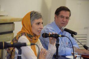 علی دهباشی و دکتر سپیده حبیب