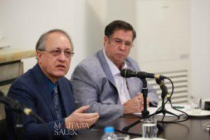 دکتر یاسمی به پرسشهای دکتر قباد در زمینه های مختلف پاسخ می گوید
