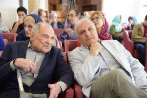 دکتر محمدرضا باطنی و داوود موسایی ـ مدیر فرهنگ معاصر
