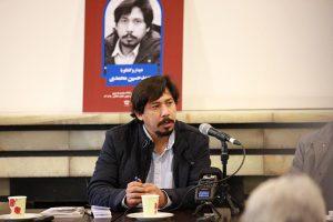 محمدحسین محمدی از قلمرو زبان فارسی سخن گفت.