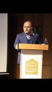 دکتر  علیرضا حسن زاده از دیدگاه انسان شناسی به بررسی اشعار شیون فومنی پرداخت