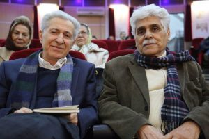 هارون یشایایی و سیروس علی نژاد در شب جبار باغچه بان