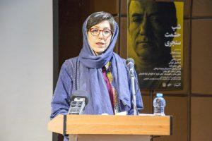 توکا ملکی  گزارشی از فعالیتهای انتشارات خط و طرح و چگونگی انتشار یادنامه حشمت سنجری بیان کرد.