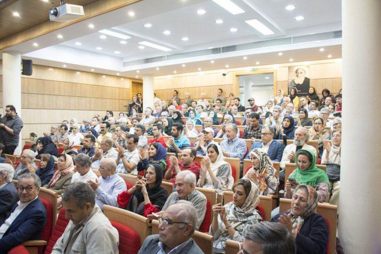 نمایی از شب رشدیه در کانون زبان پارسی