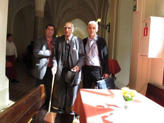 با دکتر باستانی و دکتر زاکری در کراکف، کنفرانس ایرانشناسان