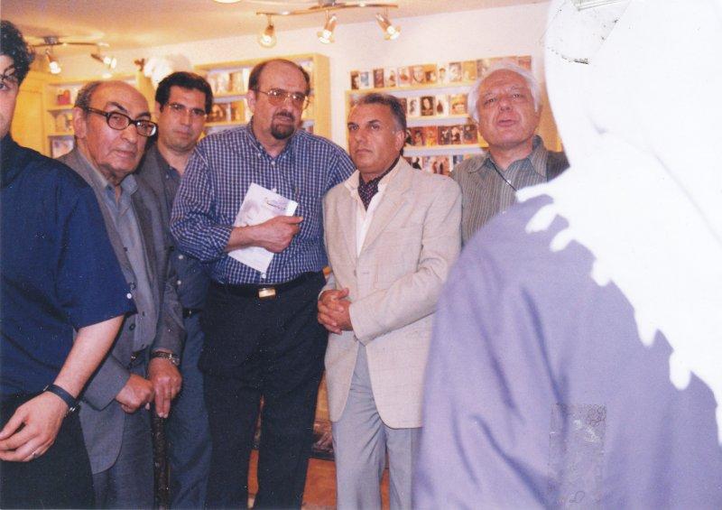 افتتاحیه نشر ثالث ـ به همراه داود موسایی، هرمز همایون پور و رضا سیدحسینی