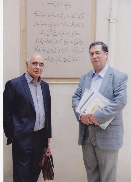 با هوشنگ مرادی کرمانی در کانون زبان فارسی ـ 5 مهر 1393