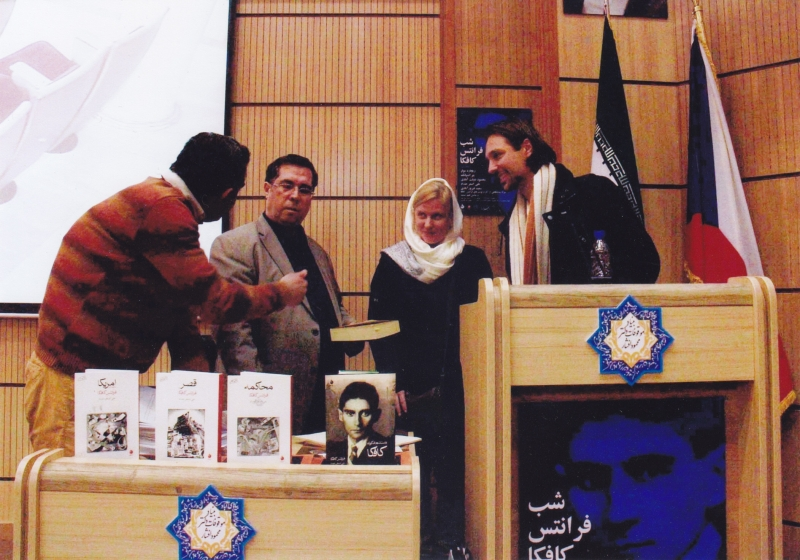 شب فرانتس کافکا به همراه پروفسور مولر آذر 1393