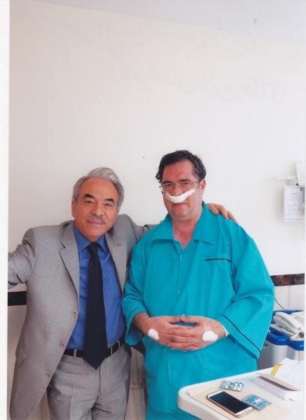 مهر 94 بیمارستان مدائن با دکتر محسن وزیر نظامی