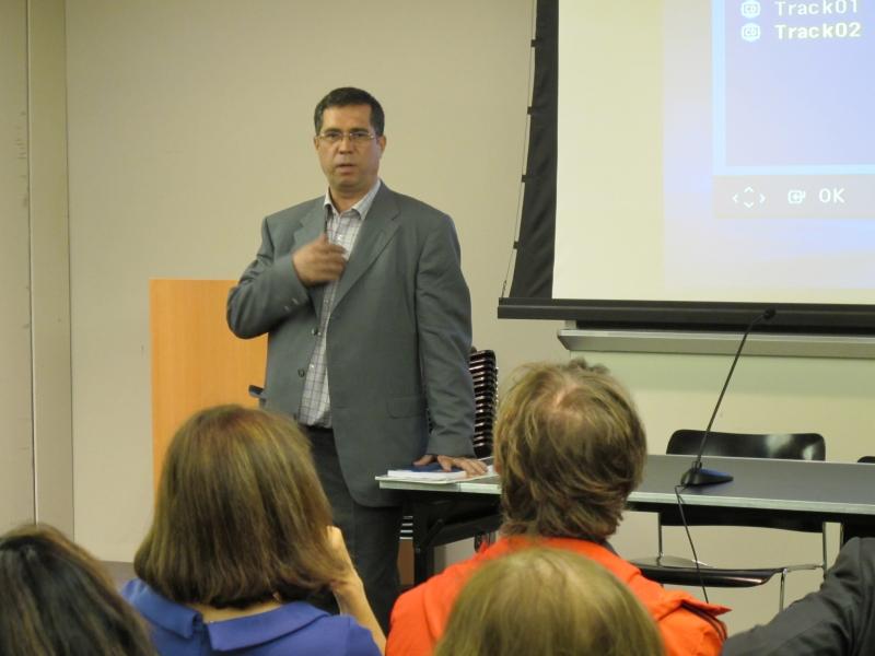 سخنرانی در دانشگاه کلمبیا ـ اکتبر 2010