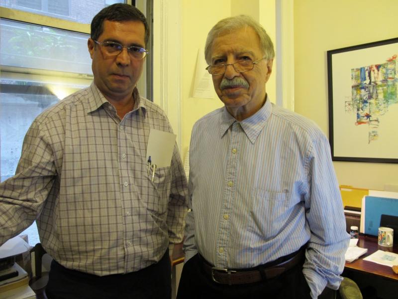 با دکتر احمد اشرف ـ اکتبر 2010
