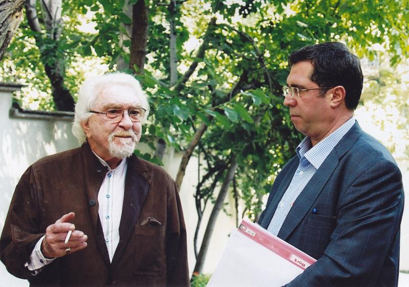 تابستان 92 ـ با دکتر داریوش شایگان