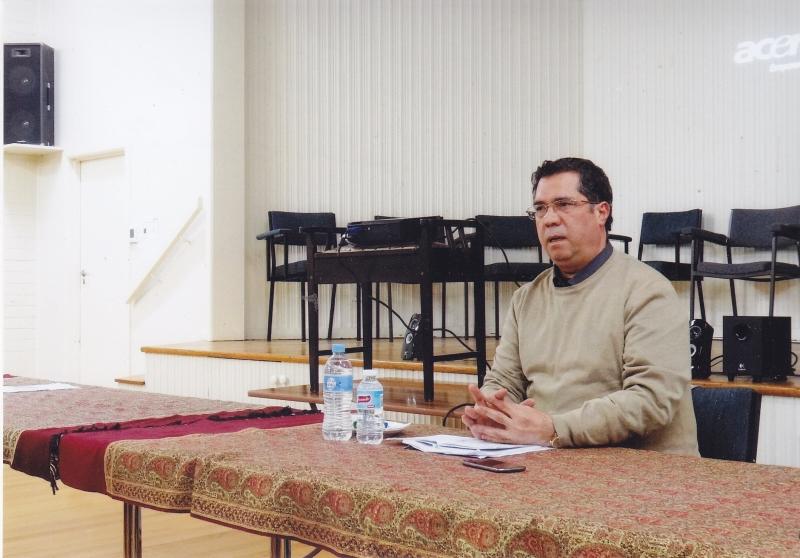 سخنرانی در جمع ایرانیان ( انجمن شاهنامه خوانی) شهر ملبورن ـ شنبه 10 خرداد 93 ـ 31 می 2014