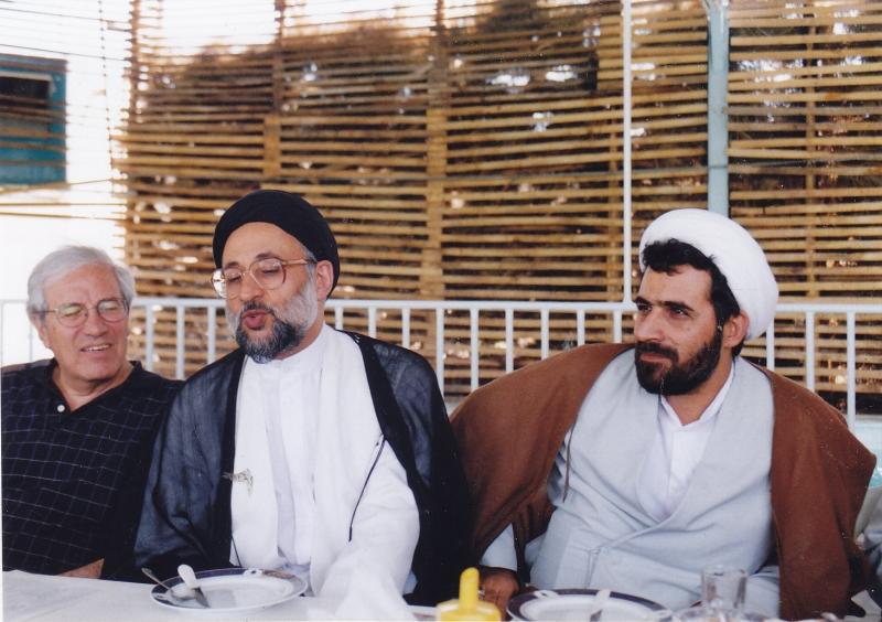 دوشنبه 27 مرداد 1382 ـ دکتر رسول جعفریان، سید حسین مدرسی طباطبائی و دکتر ایرج پارسی نژاد