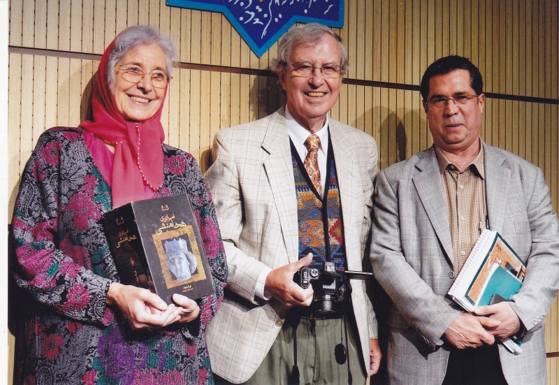 با گونترام کخ و ماری کخ ـ 8 خرداد 93 ( 29 می 2014)