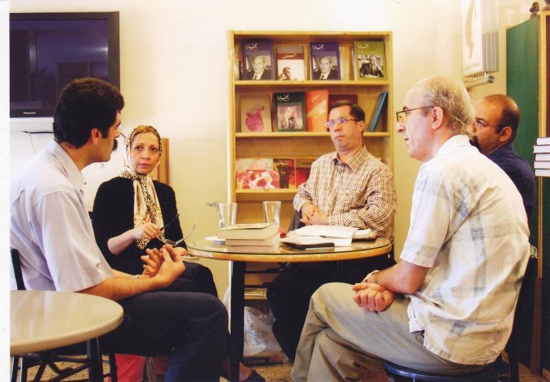 با یوسف علیخانی در سه شنبه های نشر ثالث