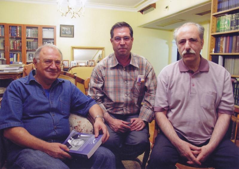 با بهاءالدین خرمشاهی و علی رامین