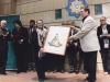 اهدای نقاشی حسین بهزاد به خانم اسین چلبی در شب خاندان مولانا ـ 13 آذر