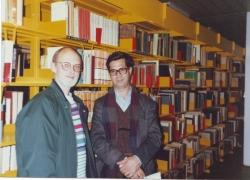 دانشگاه کپنهاک ـ اردیبهشت 1370 ( آوریل 1991) با ورناپول آناسن مترجم بوف کور به زبان دانمارکی