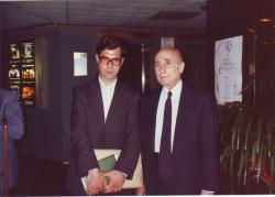 با دکتر احسان یارشاطر ( تابستان 1370 ) دانشگاه UCLA