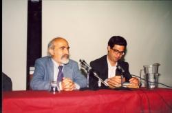 ـ سخنرانی در دانشگاه U.C.L.A درباره مطبوعات ایران به همراه دکتر محمود عنایت ـ خرداد 1370 ( می 1991)