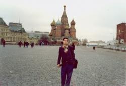 مسکو ـ میدان سرخ ـ کاخ کرملین ـ آبان 1370