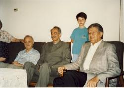 منزل دکتر زرین کوب ، دکتر محمود امامی، شهاب دهباشی، داریوش فروهر و عبدالحسین زرین کوب