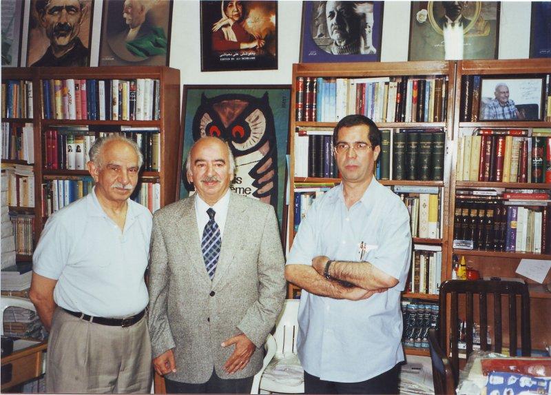 دفتر مجله بخارا ( مرداد 1383) با علی اصغر سعیدی و محمود طلوعی