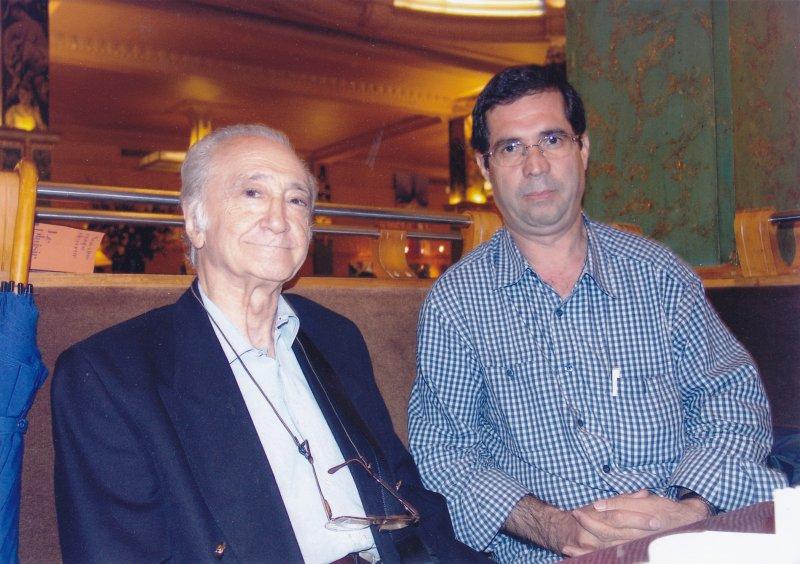 پاریس با فرخ غفاری ـ شهریور 84 ( سپتامبر 2005