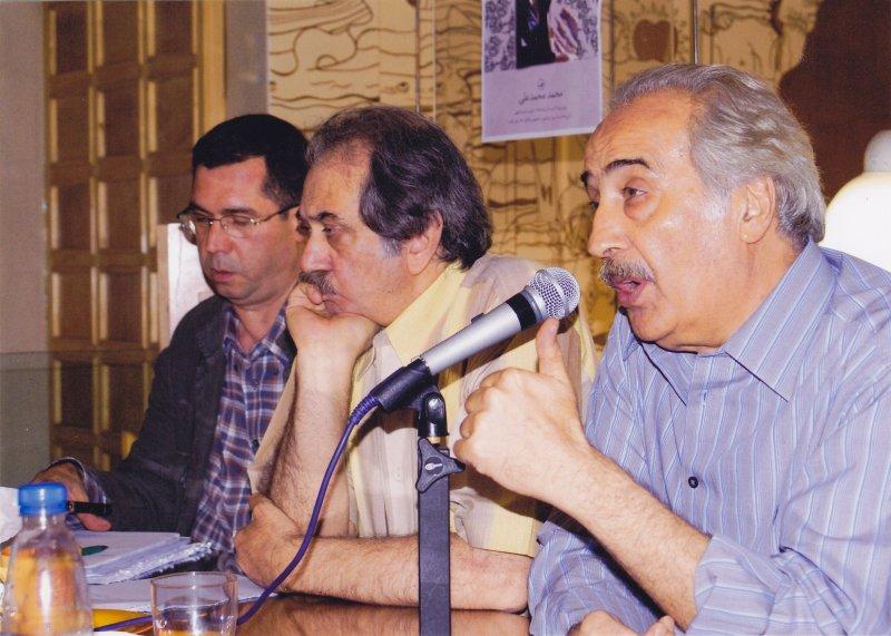 با محمد علی سپانلو و محمد محمد علی ـ 1385