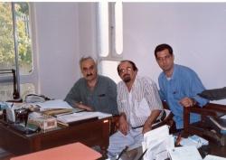دفتر نشر فرزان ـ تیر 1377 با باقر پرهام و هرمز همایون پور