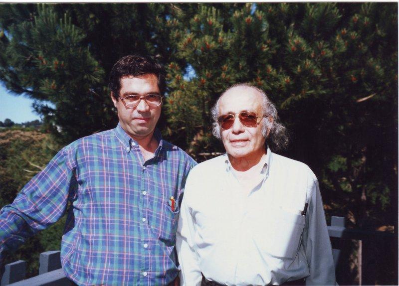سانفرانسیسکو ـ خرداد 79 با دکتر حمید محامدی