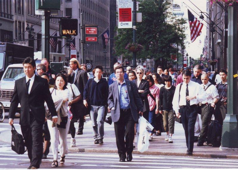 در خیابانهای نیویورک خرداد 79 ( ژوئن 2000)