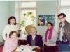 آبان 70 ـ دانشگاه مسکو با عثمان اف و دانشجویان