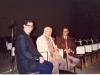برلین ـ خانه فرهنگ ها ـ 19 آبان 1371 ( نوامبر 1992) ازراست : ناصر کنعانی ، بزرگ علوی و علی دهباشی