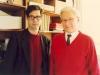 دانشگاه سوربن ـ آبان 1371 ـ نوامبر 1992 با پروفسور هانری دوفوشه کور