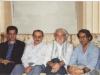 مجید تهرانیان، داریوش شایگان ، چنگیز پهلوان و علی دهباشی، تیر ماه 1372 در منزل چنگیز پهلوان