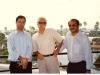 ا ناصر زراعتی و ایرج پزشکزاد ـ لس آنجلس ـ مهر 1374 ، عکس از مرتضی نگاهی
