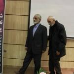 محمد علی موحد به همراه نصرالله پورجوادی ـ عکس از ژاله ستار