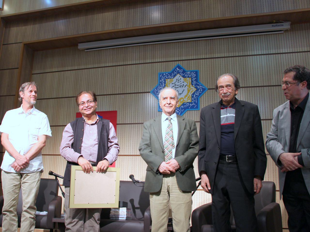 محمدمحمدعلی، محمد استعلامی، سید اختر حسین و ریچارد فولتز