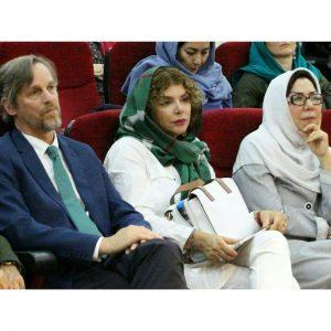 زهره زرشناس مانیا سعدی نژاد و دکتر فولتز ـ عکس از مریم اسلوبی